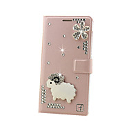 For Samsung Galaxy Case Card Holder / Rhinestone / Flip Case Full Body Case Glitter Shine Hard MetalJ7 (2016) / J7 / J5 (2016) / J5 /