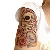 waterproof tijdelijke tattoos grote arm nep overdracht tattoo stickers sexy spuiten