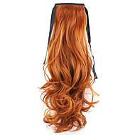 빨간색 길이 50cm 공장 직접 판매 바인드 유형 컬 말 꼬리 머리 포니 테일 (컬러 119)