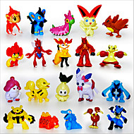 pocket lite monster 24pcs actionfigurer søte monster mini tall leker beste jule&bursdag gaver Brinquedos 3cm