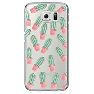 cactus Pattern TPU Soft Ultra-thin Case Cover For Samsung GalaxyS7 edge / S7 / S6 edge plus /S6 edge/s6/s5/s4