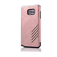 Voor Samsung Galaxy Note Schokbestendig hoesje Achterkantje hoesje Pantser Hard Siliconen Samsung Note 5 / Note 4 / Note 3