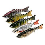 """5pcs pcs Señuelos duros Colores Aleatorios 15.4g g/1/2 Onza,10CM mm/4"""" pulgada,Plástico duro Pesca de Cebo"""