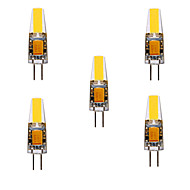 YWXLight® 5Pcs G4 GZ4 MR11 MR16 GU5.3 4W Sapphire LED​ 460LM Warm White/Cool White Waterproof LED DC/AC12-24V