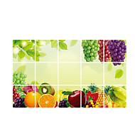 푸드 / 풍경 / 추상 / 3D 벽 스티커 플레인 월스티커 데코레이티브 월 스티커,vinyl 자료 이동가능 / 재부착가능 홈 장식 벽 데칼