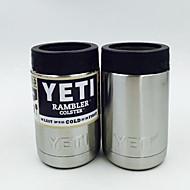 heiße Bilayer Edelstahl Isolierung Cup 12 Unzen yeti Tassen Autos Bierkrug mit großer Kapazität Becher Glasvoll