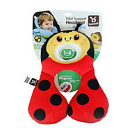 1-3 Years Old Infant Baby Neck Travel Pillow Support Headrest Children Car Travel Sleeping U Shape Head Cartoon Seat Covers U Type Baby Pillow(Beetle)