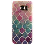 Mert Samsung Galaxy S7 Edge Minta Case Hátlap Case Mértani formák Puha TPU SamsungS7 edge / S7 / S6 edge / S6 / S5 Mini / S5 / S4 Mini /