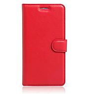 Για Θήκη Asus Θήκη καρτών / με βάση στήριξης / Ανοιγόμενη tok Πλήρης κάλυψη tok Μονόχρωμη Σκληρή Συνθετικό δέρμα AsusAsus ZenFone Max