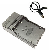 EL5 micro usb kamerapuhelimista akkulaturi Nikon Coolpix p4 p80 p90 p100 P500 P510 P520