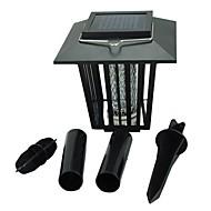 3W LED Güneş Enerjili Işıklar 200 lm Serin Beyaz / Mor Dip LED Su Geçirmez Pil V 1 parça