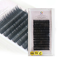 A box has 12 rows of eyelashes ripsien Silmäripsi Yksittäiset irtoripset Silmät / Silmäripsi Luonnollisen pitkätPidennetty / Suurennettu