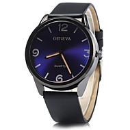 Herren Modeuhr / Armbanduhr Quartz / PU Band Bequem Schwarz / Blau / Rot Marke