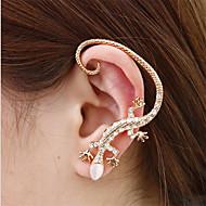 耳の袖口 誕生石です. 合金 シルバー ゴールデン ジュエリー のために 日常 カジュアル 1個