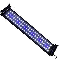 20 tuumaa (50 cm) johti akvaario valo AC 100-240 sinivalkoinen laajennettavissa kiinnike johti kala lamppu meille plug