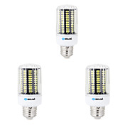 3 pcs E14 / E26/E27 / B22 LED Corn Lights 136 SMD 5733 1600 lm Warm White / Cool White Decorative AC 220-240 V