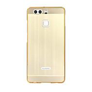 Πίσω Κάλυμμα Επιμετάλλωση / Καθρέφτης Culori solide Ακρυλικό Σκληρό Case Cover για το HuaweiHuawei P9 / Huawei P9 Lite / Huawei P9 Plus /