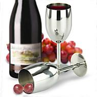 vin rustfrit stål glas kop bæger champagne glas
