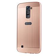 Voor LG hoesje Beplating hoesje Achterkantje hoesje Effen kleur Hard Acryl LGLG K10 / LG G5 / LG G4 / LG G4 Stylus / LS770 / LG V10 /