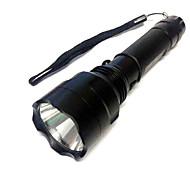 Valaistus LED taskulamput / Lyhdyt ja telttavalot LED 500 Lumenia 3 Tila Cree XR-E Q5 18650 ErityiskevyetTelttailu/Retkely/Luolailu /