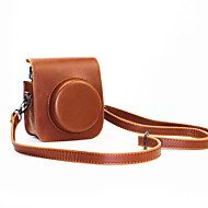 PU Leather Mini Camera Case for Fujifilm Instax Mini 70 with Detachable Shoulder Strap