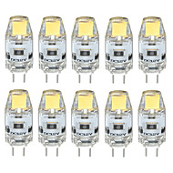 10PCS G4 LED COB 300-350LM Warm White/Cool White/Natural White Decorative / Waterproof DC12V  LED Bi-pin Lights