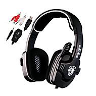 Sades SA922 Hodetelefoner (hodebånd)ForMedie Player/Tablet / ComputerWithMed mikrofon / DJ / Lydstyrke Kontroll / FM Radio / Gaming /