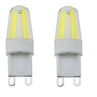 3W G9 LED-lamper med G-sokkel T 4 COB 300-350 lm Varm hvid / Kold hvid / Naturlig hvid Dekorativ / Vandtæt / Justérbar lysstyrkeAC
