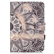 Varten Korttikotelo / Tuella / Kuvio Etui Kokonaan peittävä Etui Other Pehmeä Tekonahka Apple iPad Mini 3/2/1
