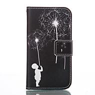 Για Samsung Galaxy Θήκη Θήκη καρτών / Πορτοφόλι / με βάση στήριξης / Ανοιγόμενη tok Πλήρης κάλυψη tok Ραδίκι Μαλακή Συνθετικό δέρμα