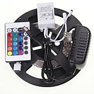 5m 16.4ft rgb 300x5630 SMD led joustava LED-valo nauhat + rgb controlers + virtalähde ac100-240v