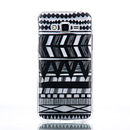 For Samsung Galaxy etui Transparent Etui Bagcover Etui Linjeret / bølget Blødt TPU for SamsungJ7 J5 (2016) J5 J3 (2016) Grand Prime Core