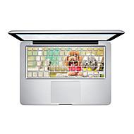 1 kpl Naarmunkestävä Läpinäkyvä muovi Tarrakalvo Piirroshahmo VartenMacBook Pro 15 '' kanssa Retina / MacBook Pro 15 '' / MacBook Pro 13