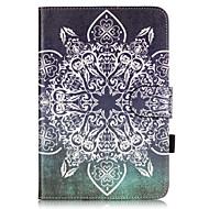 PU Leather Material Full Flower Embossed  Pattern Tablet Sleeve for iPad mini 4