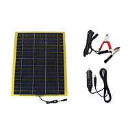 20W 18V Portable Monocrystalline Solar Panel Car Automobile Rechargeable Power Battery Charger (SWB2018C)
