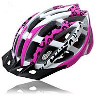 Capacete(Fúcsia,PC / EPS) -Montanha / Estrada / Esportes-Mulheres 15 AberturasCiclismo / Ciclismo de Montanha / Ciclismo de Estrada /