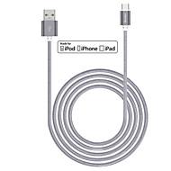 Benks soort nylon gevlochten c om usb 2.0-kabel met 56k ohm weerstand voor het type c-apparaat