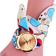 Dames Modieus horloge Armbandhorloge Kwarts / Stof Band Sneeuwvlok  Zwart Blauw Roze roze Geel Blauw