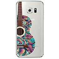 Для Samsung Galaxy S7 Edge Прозрачный / С узором Кейс для Задняя крышка Кейс для Мультяшная тематика Мягкий TPU SamsungS7 edge / S7 / S6