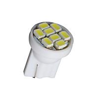 10×白T10 8-SMD 3020 194 168 501 12Vウェッジ側の電球ランプw5wを主導