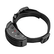 Hunde Bellhalsband Anti Bark / Regolabile/Einziehbar / Eletrisch/Elektrisch / Vibration Solide Schwarz Nylon