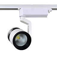 30W 3000LM 3000K/4000K/6000K Rail Lights Spotlight for Clothes Shop COB Led Track Light (AC110-265V)