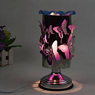 1pc branché sur l'électricité tactile papillon huiles essentielles lampe de parfum cadeau