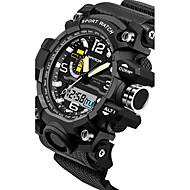 SANDA Herr Par Sportsklocka Militärklocka Smart klocka Modeklocka Armbandsur Digital Japansk kvartsurLED Kronograf Vattenavvisande Dubbel