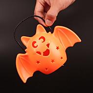 1 개 재미있는 복고 만성 크리스마스 편리한 주도 호박 램프 플래시 음악 박쥐 램프