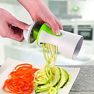 1 크리 에이 티브 주방 가젯 / 다기능 스테인레스 / 플라스틱 과일 & 야채 커터기