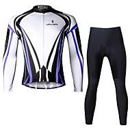 PALADIN® Koszulka i spodnie na rower Męskie Długi rękaw RowerOddychający / Quick Dry / Ultraviolet Resistant / Kompresja / Lekkie