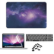 sternacht pvc koffer met anti-stof-plug en scherm film voor MacBook Air 11,6 pro 13.3 15.4 retina