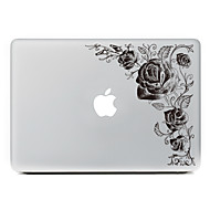 1 τμχ Προστασία από Γρατζουνιές Λουλούδι Πλαστικές διάφανες Αυτοκόλλητο Μοτίβο ΓιαMacBook Pro 15'' with Retina MacBook Pro 15 '' MacBook