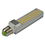 15W E14 G23 E26/E27 LED-lamper med G-sokkel T 60 SMD 5050 1200-1400 lm Varm hvid Kold hvid DekorativVekselstrøm 85-265 Vekselstrøm